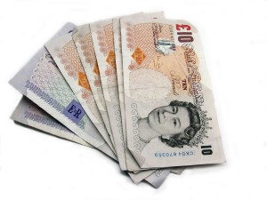 Billets de 10 livres sterling
