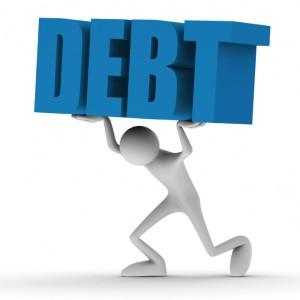 Société endetté