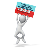 National Insurance card UK